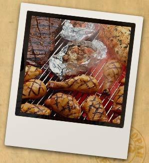 Оформление праздничного стола с блюдами фото